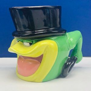 Michigan J Frog coffee mug cup Looney Tunes vtg